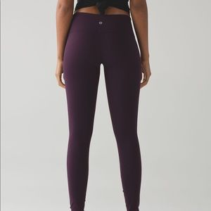 Black cherry lulu lemon leggings